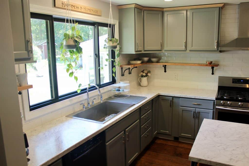 farmhouse kitchen completed