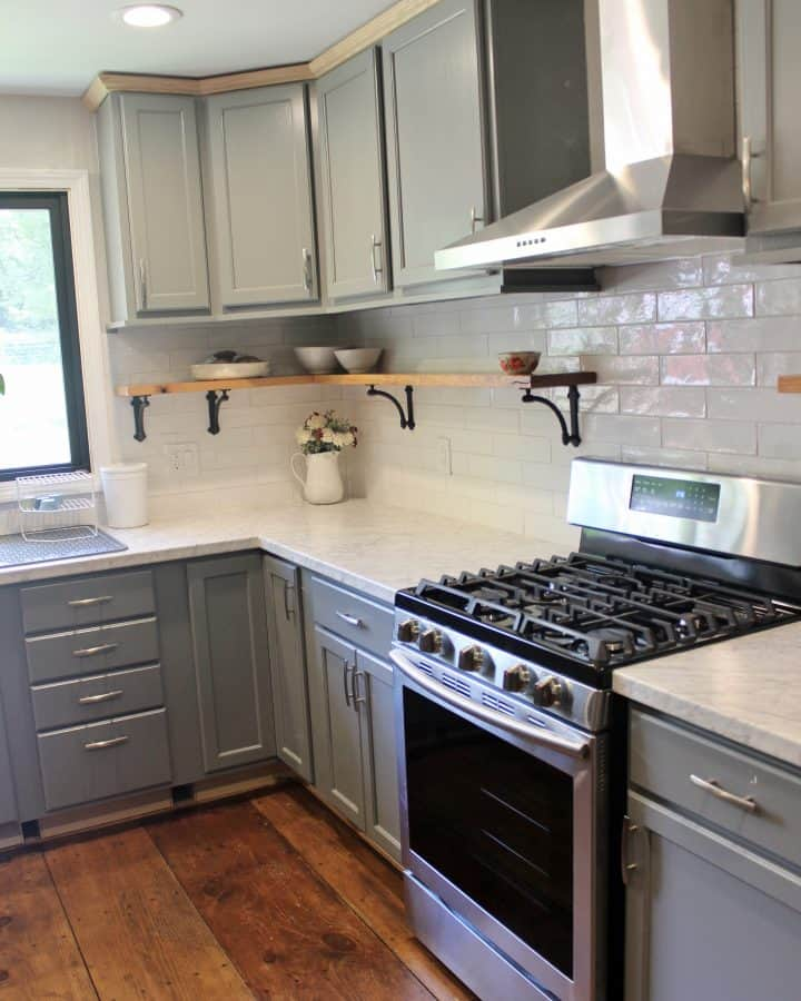 DIY Farmhouse Kitchen Remodel