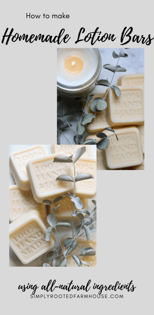all natural ingredients for lotion bars