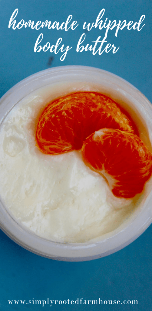 orange scented whipped body butter recipe