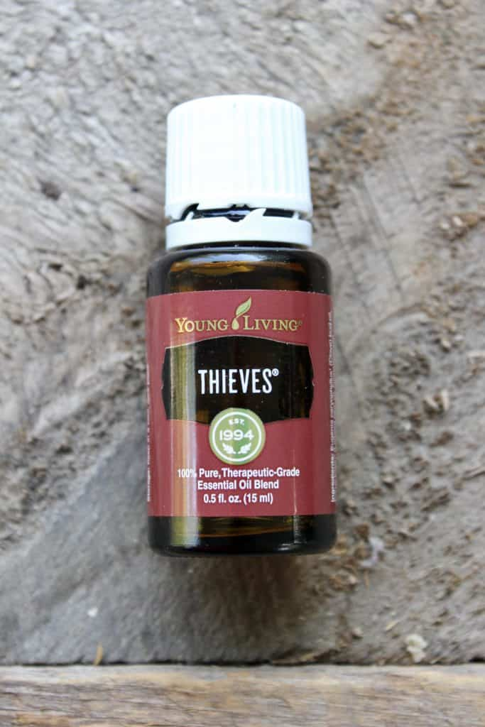 thieves non-toxic living essential oil