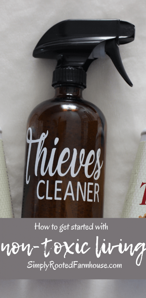 non-toxic living cleaner