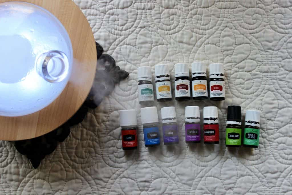aria diffuser and oils