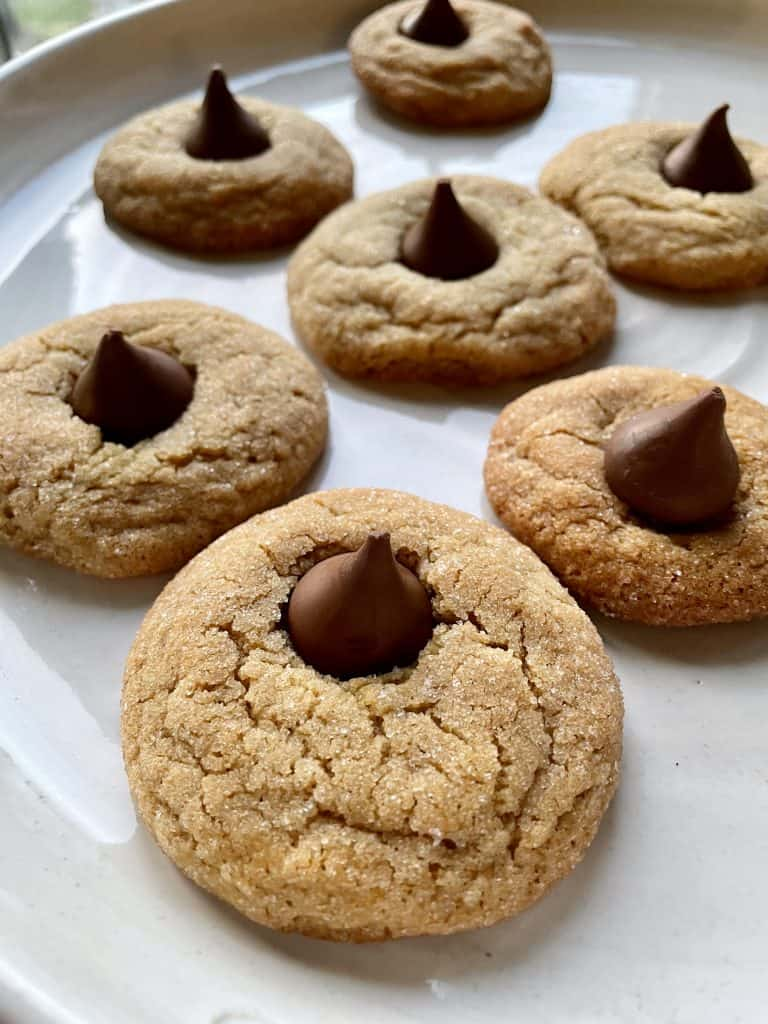 classic christmas cookies peanut butter blossoms