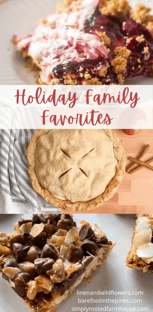 holiday family favorite recipes collaboration