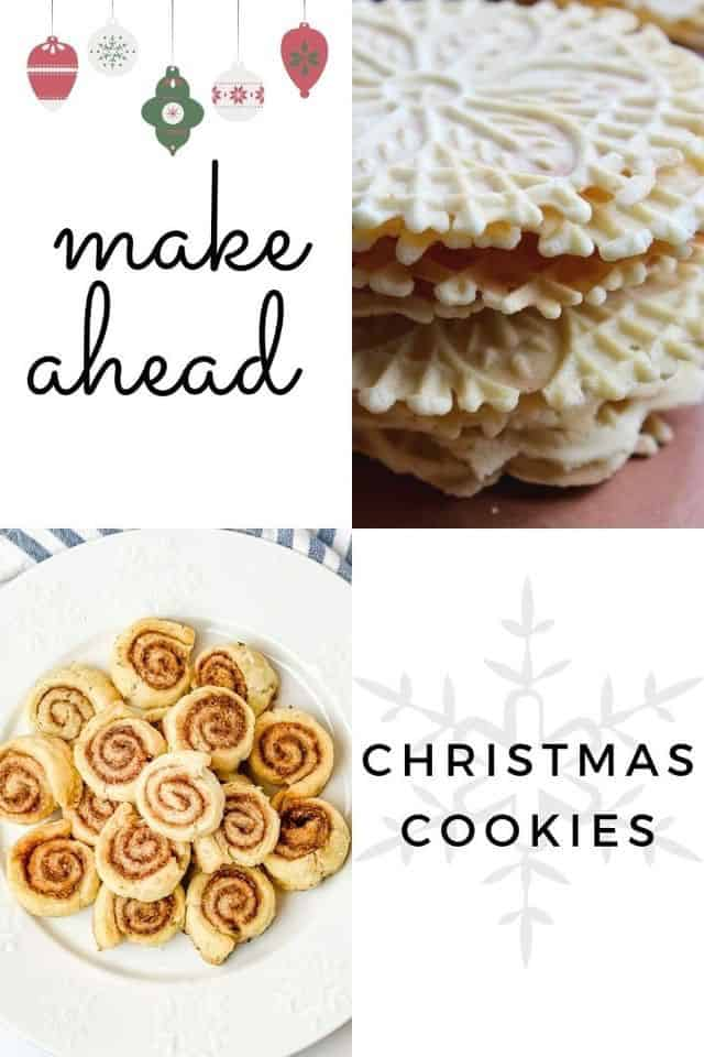 make ahead christmas cookies