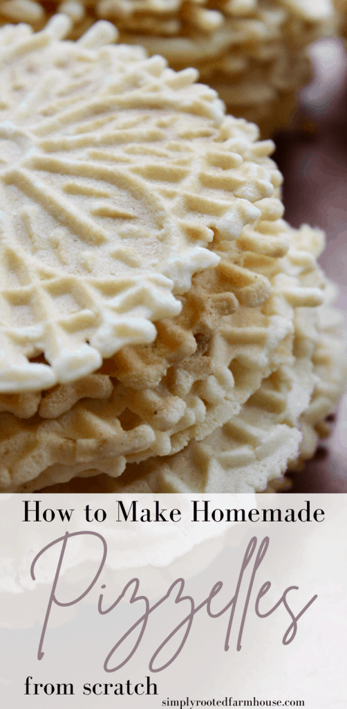 homemade pizzelles pin