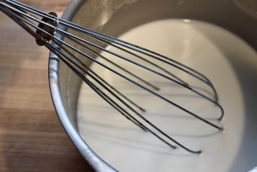 whisk cornstarch ornaments together with this simple recipe