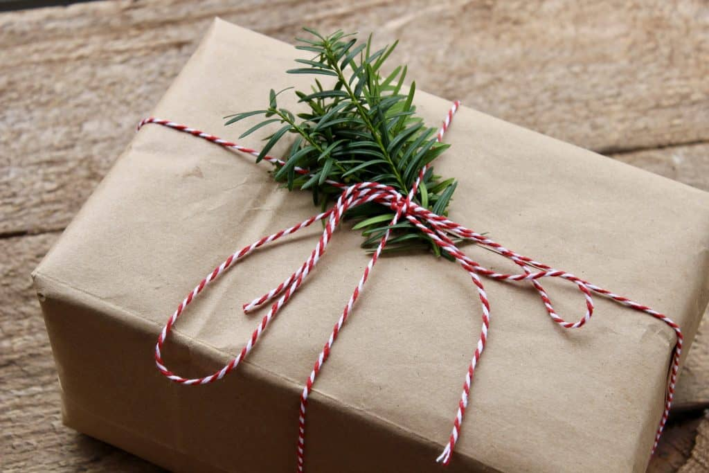 Eco-Friendly Christmas Gift Wrapping