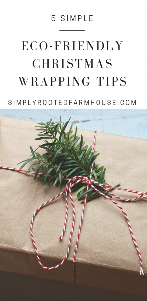 eco friendly christmas wrapping tips