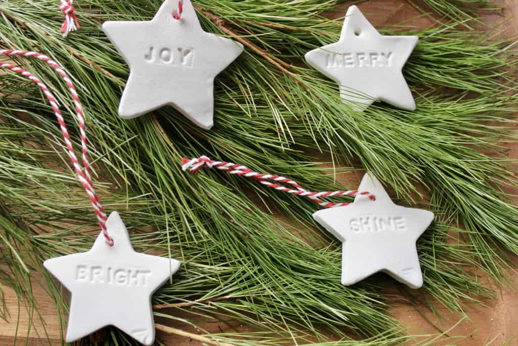 how to make personalized diffuser ornaments with cornstarch