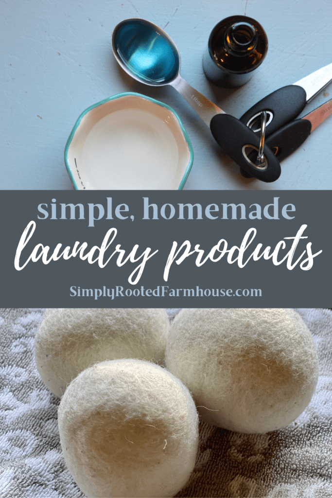 simple homemade laundry products and recipes